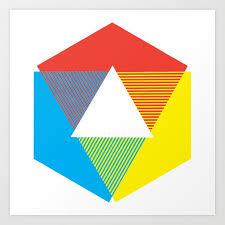 Color Wheel Print Color Chart Rainbow Design By Christy Nyboer Little Lark Art Print By Alittlelark