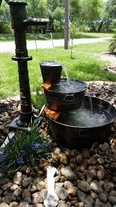 backyard water fountains