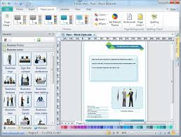 How To Create Flyers Free Flyer Software Easy To Create Flyers Brochures Leaflets