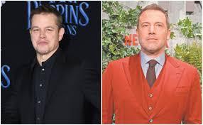 Ben Affleck y Matt Damon recaudan millones contra el Covid-19