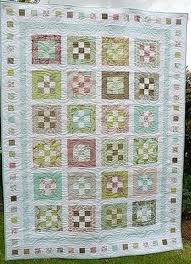 Groves of Gardens Nine Patch Quilt | FaveQuilts.com & Groves of Gardens Nine Patch Quilt Adamdwight.com