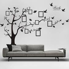 sensational idea family tree picture frame wall hanging frames metal removable decor decal sticker only 8 59
