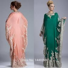 Modest Muslim Arabic Kaftan Mother Of Bride Dresses 2015 Lace Long