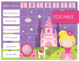 Disney Princess Behavior Chart 13 Best Photos Of Printable Princess Reward Chart Free