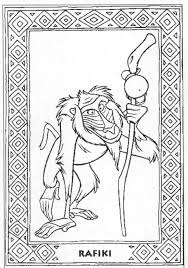Small Picture Pics Photos Rafiki Coloring Pages rafiki coloring page Children