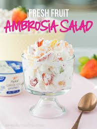 fruit salad with frozen yogurt. Modren Frozen I Took This Ambrosia Fresh Fruit Salad To A Pot Luck And It Was The First  Pinterest Throughout With Frozen Yogurt E