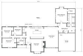 ranch style house plan beds baths floor plans sq ft single story modern 2800 square feet