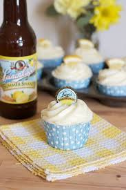 summer shandy cupcakes