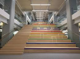 Office Stairs Stairs Decked Out For Pride W Square Office Photo Glassdoor Co In