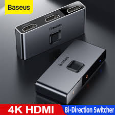 <b>Baseus HDMI Switch 4K</b> HDMI Switch Adapter HDMI Switch 2x1 for ...