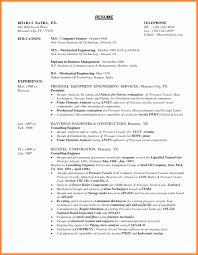 Piping Design Engineer Resume Format Unique Diploma Mechanical