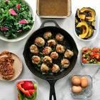baked turkey paleo meatballs