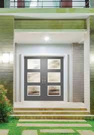 contemporary masonite entry door