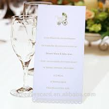 Hotel Banquet Wedding Table Use Handmade Creative Design Menu Card Buy Folded Menu Card Hotel Menu Cards Sample Menu Card Product On Alibaba Com