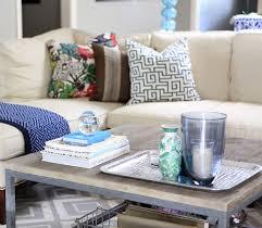 coffee table decorative accessories makeover
