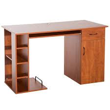 Image modern home office desks Table Amazoncom Homcom 47 Amazoncom Amazoncom Homcom 47