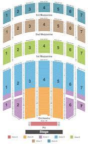 Radio City Musical Hall Interactive Seating Chart Seating