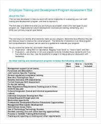 New Employee Training Program Template Free 12 Training Program Examples Samples In Pdf Examples