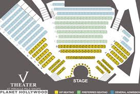 Vegas The Show Saxe Theater Seating Chart Axis Theater Seating Chart