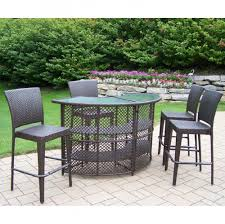 Small Outdoor Table Set Furniture Ideas 2 Heigh Patio Chairs With Small Bar Height Patio