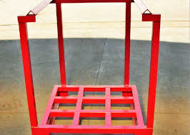 Powder Coating Rack Steel Powder Coating Pallet Stacking Rack Pallet Stacking Frames 51
