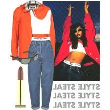 A place to share and appreciate fashion trends from the 90s. Celeb Fashion Steal Aaliyah Fashion Aaliyah Style Vintage Inspired Outfits Fashion