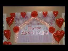 diy anniversary room decoration you