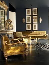 decor inspo blue gray gold the fashionista lab