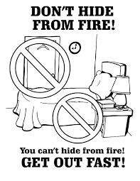 Safety Coloring Sheets Free To Download Fire Safety Coloring Pages ...
