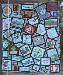 Best 25+ Tee shirt quilts ideas on Pinterest | Shirt quilt, Diy ... & Unique tshirt quilt layout Adamdwight.com