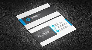 Professional Business Card Templates Free Clean Corporate Professional Business Card Template