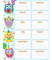 Chart design ideas Excel Printable Birthday Chart Classroom Template For Gallery Design Ideas Charts Homeschoolingforfreeorg Printable Birthday Chart Classroom Template For Gallery Design Ideas