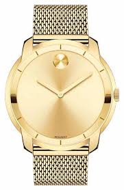 men s 14k 18k 24k gold watches watches for men nordstrom movado bold mesh strap watch