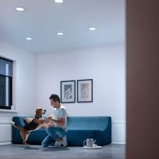 Philips Hue In Recessed Lights Philips Hue White Ambiance Retrofit Led Downlight White