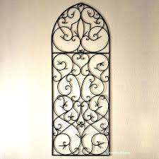 wrought iron wall art australia perth wa arch decor panel
