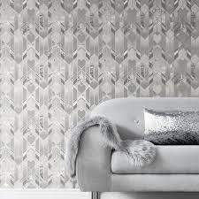 muriva elixir geometric marble grey