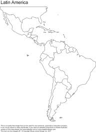 Map Of North And South America For Kids Free Coloring Pages On Art