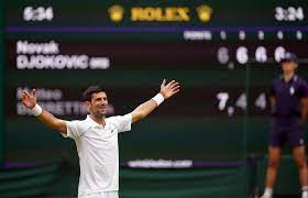 nobody tested Novak Djokovic ...