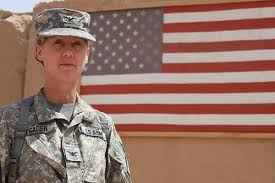 us army this is the first woman to lead a u s army infantry