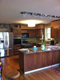 How To Remove Kitchen Cabinet Building A Kitchen Cabinet Soffit