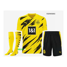 The new puma bvb home jersey 2020/2021 in a flash design. Borussia Dortmund Home Uniform 2020 21