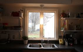over the sink lighting. if your pendant is over the kitchen sink maybe follow that urge to hand wash dishes more often and consider adding a dimmer switch make lighting