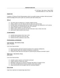 Customer Service Resume Template 160888 2018 Customer Service Resume