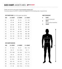 Shoei Nxr Size Chart Ignition 3 Motorcycle Jacket