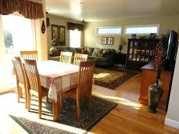 carpet under kitchen table rug under dining room table on carpet image of best rugs under