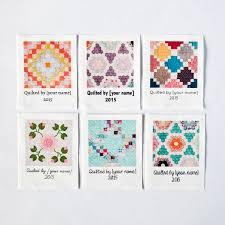 Custom Quilt Labels, 8 large personalized fabric tags for your ... & Custom Quilt Labels, 8 large personalized fabric tags for your handmade  quilt from ananemone on Etsy Studio Adamdwight.com