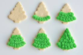 These Christmas tree sugar cookies have such a gorgeous fir tree texture!  This recipe makes