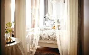 King Size Bed With Canopy King Size Canopy Bed With Curtains Large ...