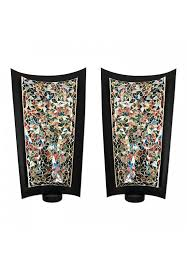 decors mosaic wall sconce set of 2