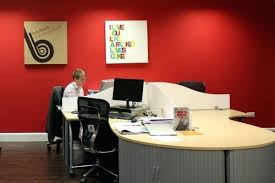 office wall colors ideas. Office Wall Colors Color Ideas Red Of Fa 1 4 Rs .